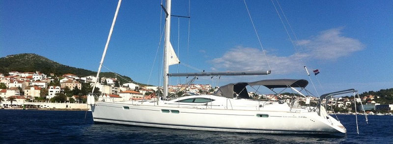 Jeanneau Sun Odyssey 54 Ds Crewed Sailing Boats Charter In