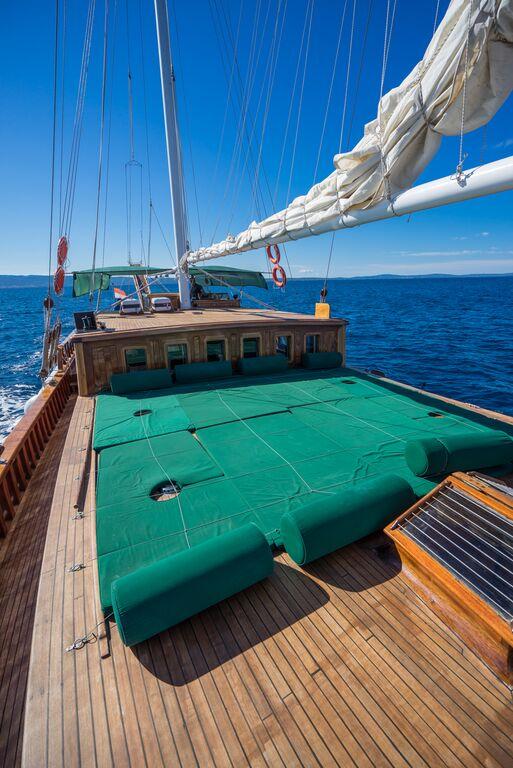 Gulet alisa cabin charter cruising vessels charter in Cabin charter croatia