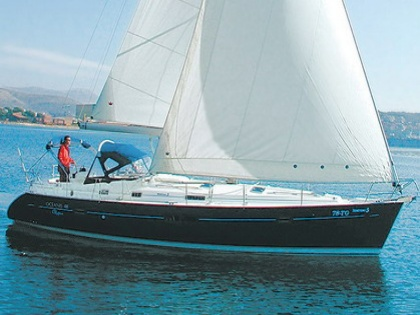 Sibenik:Beneteau Oceanis Clipper 411. Sailing. Built: 2003; Length over all: ...