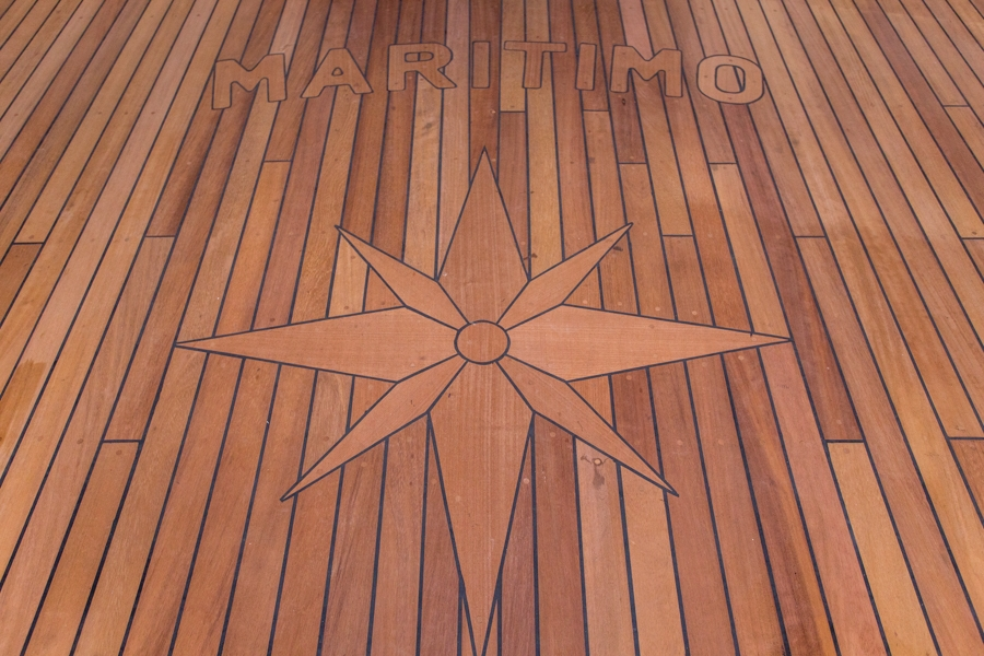 Detail on a deck