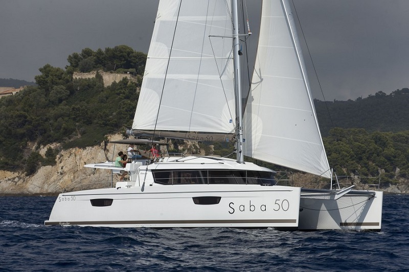 Fountaine Pajot Saba 50 - 6+1 cabins