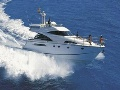 Fairline Squadron 58 - with skipper & hostess