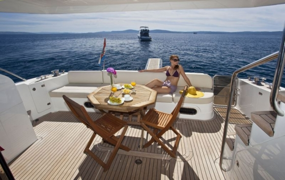 Princess 62 - Motor boats charter in Split | CROATIA CHARTER HOLIDAYS