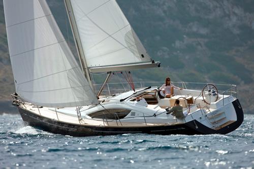 Sun Odyssey 50 DS. Built: 2009; Length over all: 15.07 m; Beam: 4,49 m ...