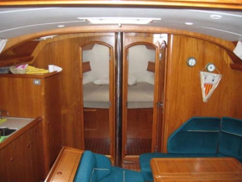 Jeanneau Sun Odyssey 45.1 - 3 cabin - Sailing boats charter in Murter ...