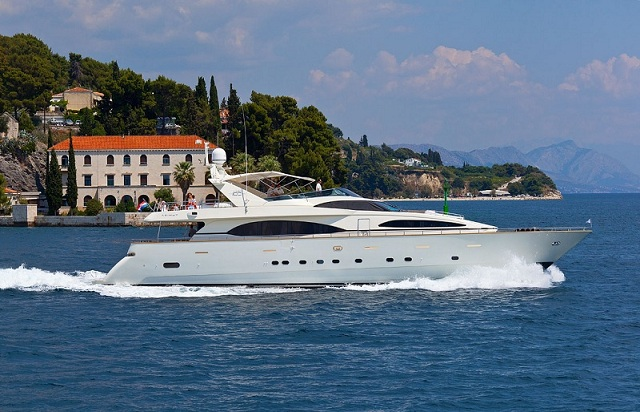 Azimut 100 Jumbo. Built: 2003; Length over all: 29.8 m; Beam: 6,60 m ...