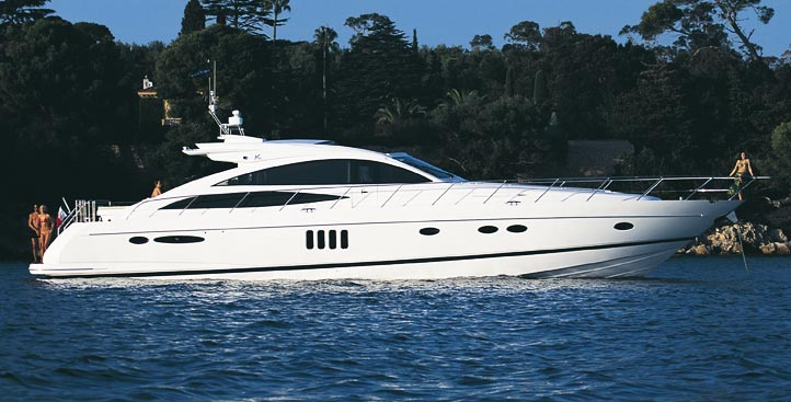 Princess V70 - Motor boats charter in Split | CROATIA CHARTER HOLIDAYS