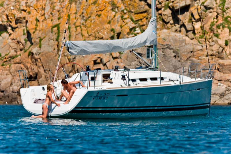 Beneteau First 35 - Sailing boats charter in Kastela | CROATIA CHARTER ...