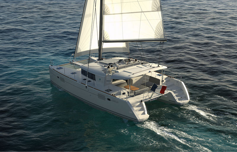 Lagoon 450 Catamarans Charter In Seget Donji Croatia