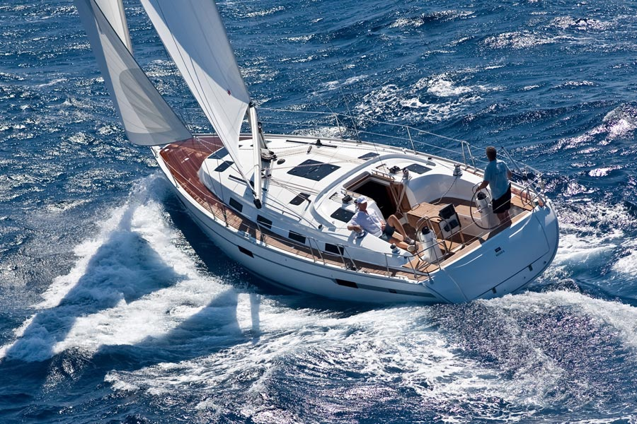 Bavaria 40 Cruiser. Built: 2011/2012; Length over all: 12.45 m; Beam: 3,99 m ...
