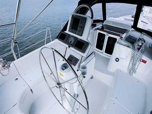 Hunter 41 AC - Sailing boats charter in Sibenik | CROATIA CHARTER HOLIDAYS