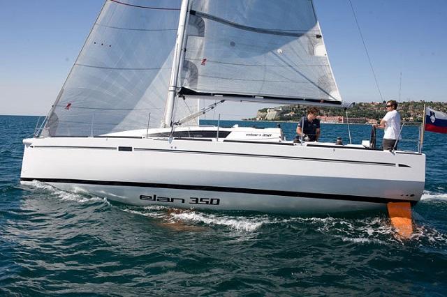 Elan 350 3 cabins sailing boats charter in biograd Cabin charter croatia