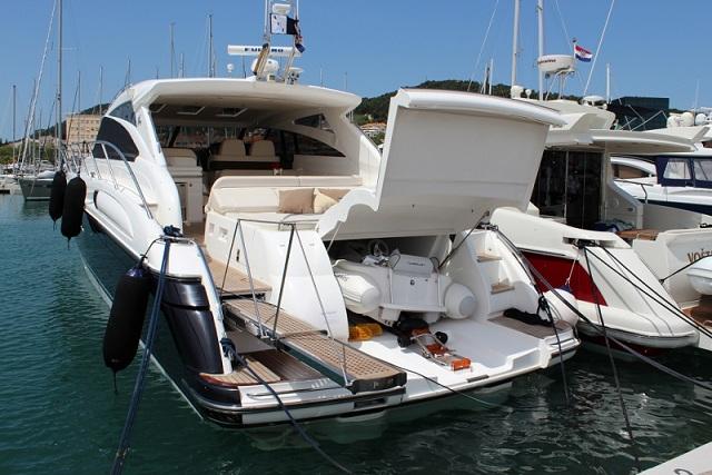 Princess V58 Motor Boats Charter In Split Croatia