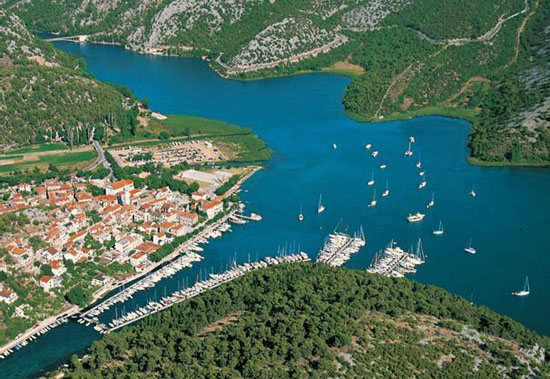 Skradin croatian charter bases and proposed routes for Noleggio cabina del parco nazionale voyageurs