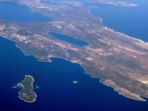 Cres Croatian Charter Bases And Proposed Routes
