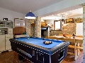 Pool table in the villa