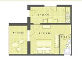 Layout - apartment 1/2