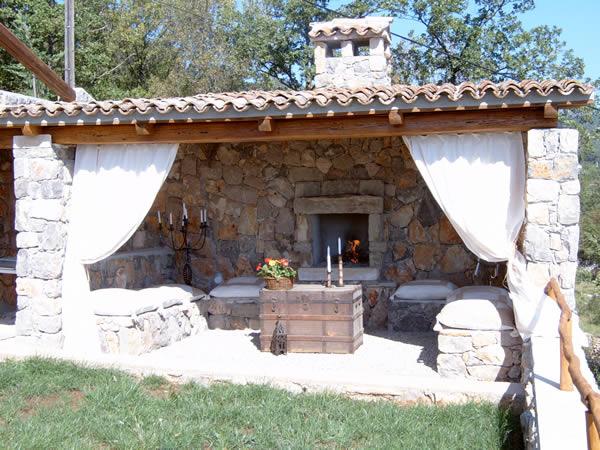 villa tramontana vile u kvarner i primorje. Black Bedroom Furniture Sets. Home Design Ideas