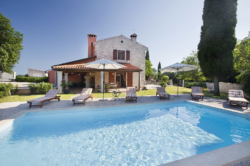 Villa Fendi with pool. Villa Fendi       Villas   holiday homes in Istria   CROATIA