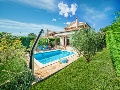 Villa Dana with pool and garden