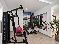 Gym in the villa