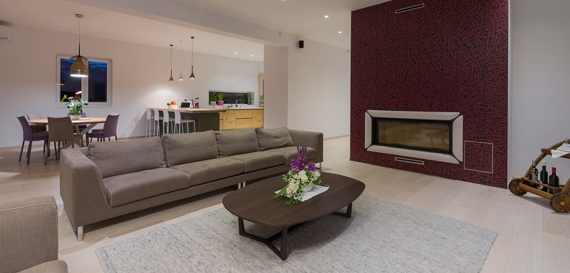 Open space living concept